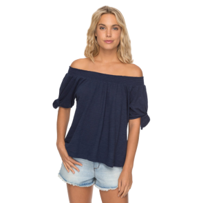 MAJICA KRATKA CARRIBEAN MOOD-OFF THE SHOULDER TOP  Dress Blues
