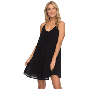 HALJINA ROXY GREAT INTETNTIONS STRAPPY DRESS  Anthracite