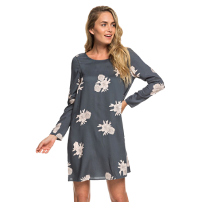 HALJINA ROXY SEASIDE SENSE LONG SLEEVE  Turbulence Rose And Pearls