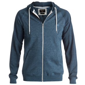 EVERYDAY ZIP-UP HOODIE Dark Denim