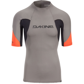 LYCRA DAKINE HEAVY DUTY SNUG FIT SS RASHGUARD  Carbon