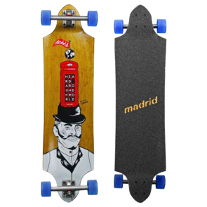 "MADRID GENTLEMAN MAXED  36.75"" LONGBOARD"