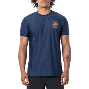LYCRA RIP CURL MENS SWC WILDER SHORT SLEEVE UV TEE