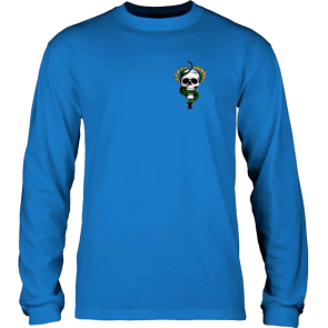 MAJICA DUGA POWELL PERALTA MIKE MCGILL SKULL & SNAKE LONG SLEEVE  Royal Blue