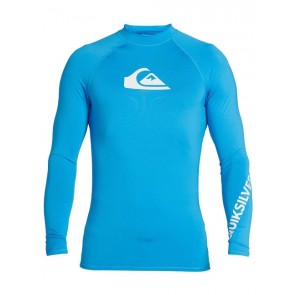 LYCRA QUIKSILVER ALL TIME LONG SLEEVE UPF 50 RASH VEST