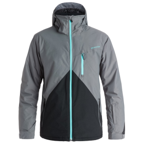 QUIKSILVER MISSION COLORBLOCK SNOW JACKET Quiet Shade