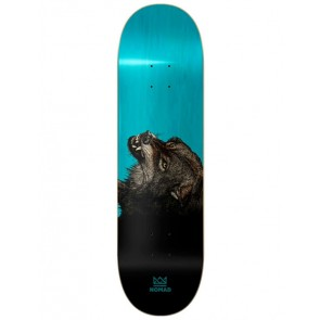 SKATEBOARD NOMAD THE WOLF LIGHT BLUE 8.0""