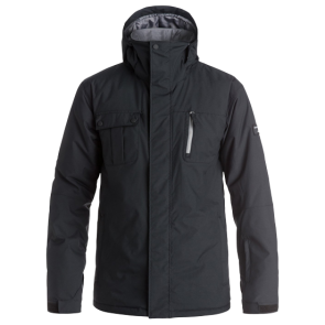 QUIKSILVER MISSION SOLID JACKET