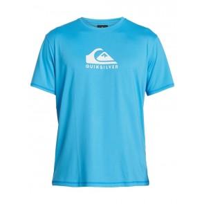 LYCRA QUIKSILVER SOLID STREAK SHORT SLEEVE UPF 50 SURF T-SHIRT