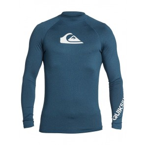 LYCRA QUIKSILVER ALL TIME LONG SLEEVE UPF 50RASHGUARD