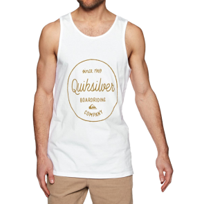 MAJICA TANK QUIKSILVER MORNING SLIDE  White