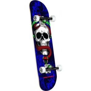 """SK8 POWELL PERALTA SKULL AND SNAKE ONE OFF BIRCH COMPLETE 7.75"""""""
