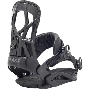VEZOVI DRAKE FIFTY SNOWBOARD BINDINGS  Black