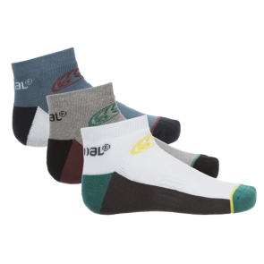 ČARAPE ANIMAL 3 PACK TRAINER SOCKS   Assorted