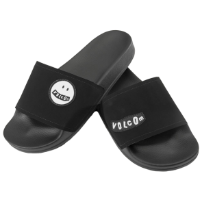 ŠLAPE VOLCOM DON'T TRIP SLIDES  Black